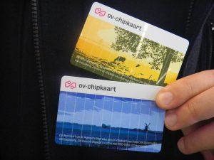 OV Chipkaart en Quincy Gario
